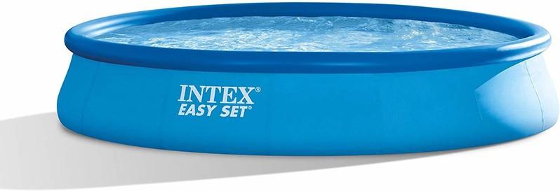 INTEX - nafukovací bazén457x84 cm s filtračním zařízením 28158