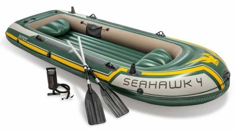 INTEX - nafukovací člun Seahawk 4 set, model 2011