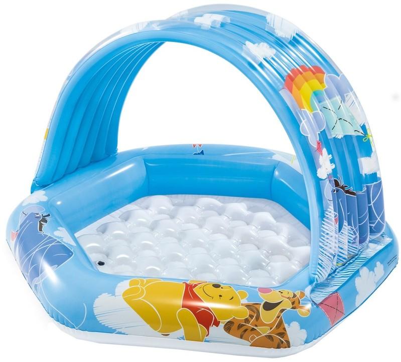 INTEX - nafukovací dětský bazének Medvídek Pů 58415