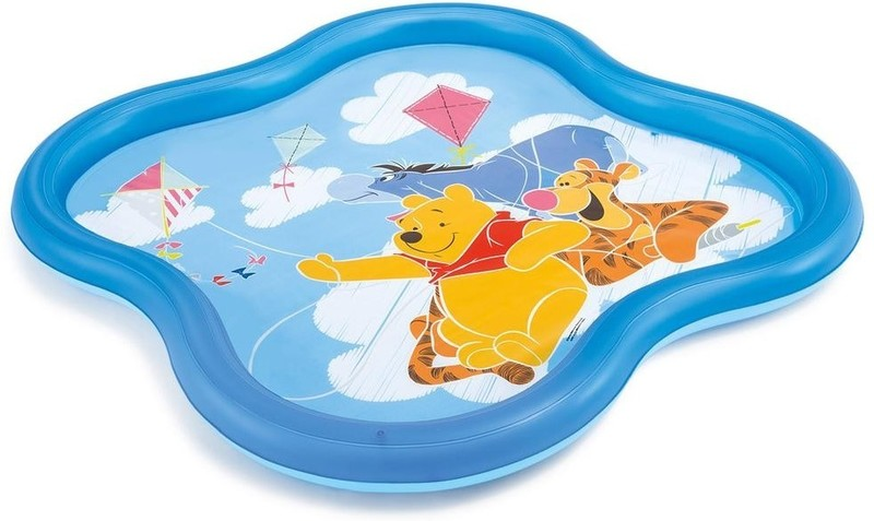 INTEX - nafukovací dětský bazének Medvídek Pů se sprškou 58433