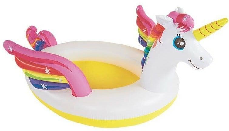 INTEX - nafukovací dětský bazének Mystický jednorožec se sprškou 57441