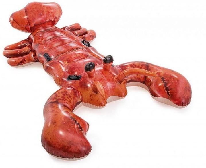 INTEX - Nafukovací realistický krab s držadly 57533