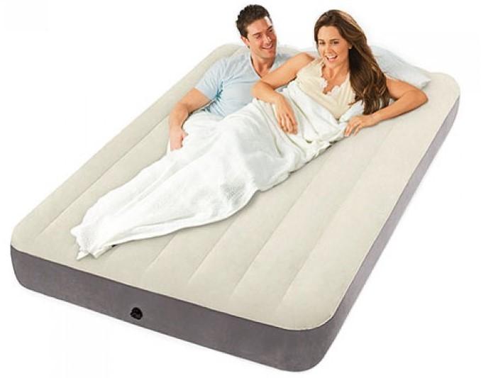 INTEX - nafukovací postel 64103 Deluxe Single High QUEEN