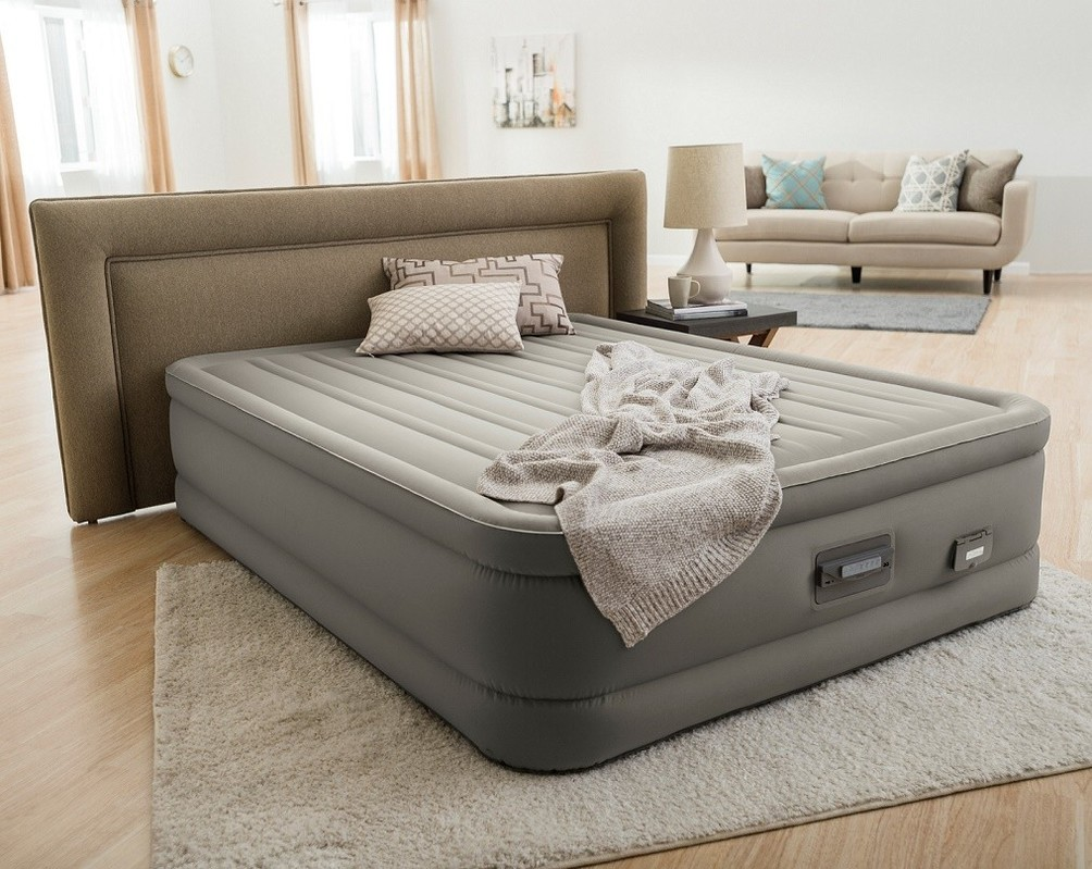 INTEX - nafukovací postel 64770 PremAire Dream Queen s integrovanou elektrickou pumpou
