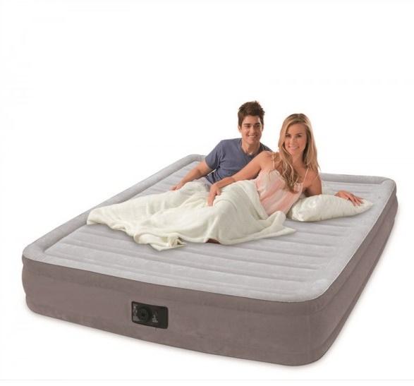 INTEX - nafukovací postel 67768 Comfort Full s integrovanou elektrickou pumpou