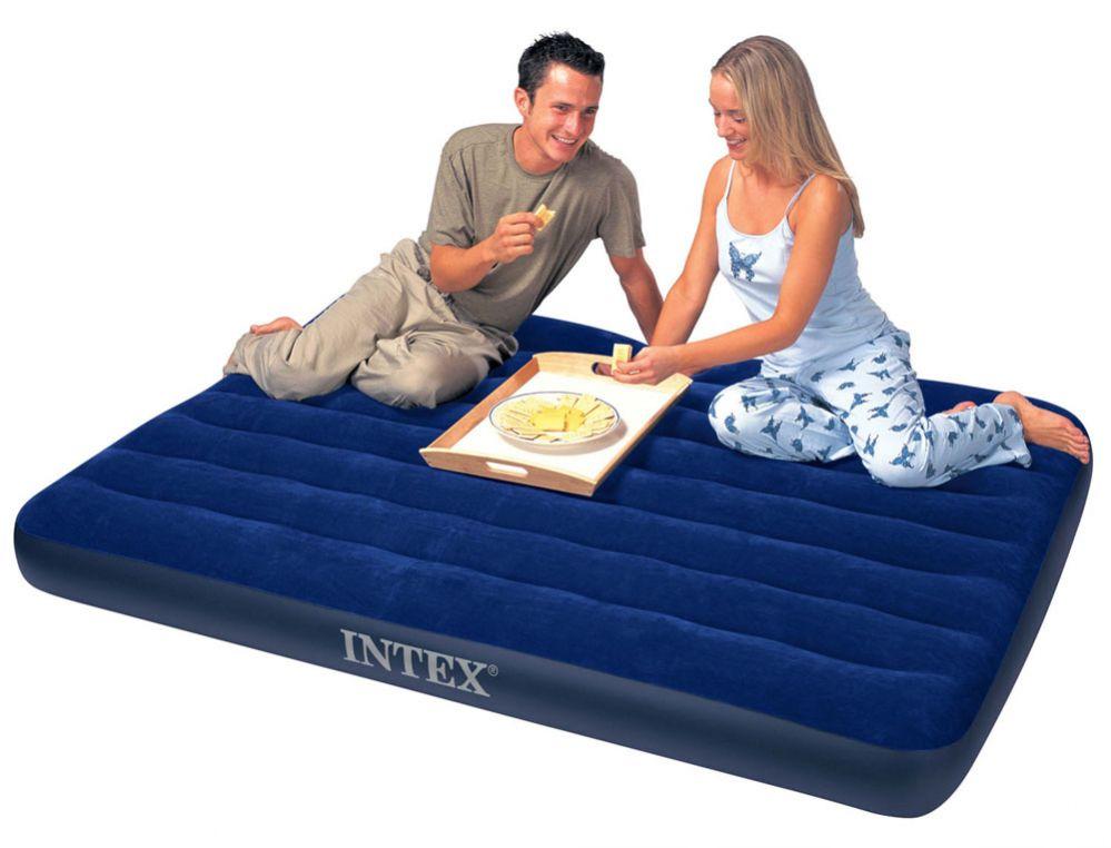 INTEX - nafukovací postel 68758 Classic Downy Full