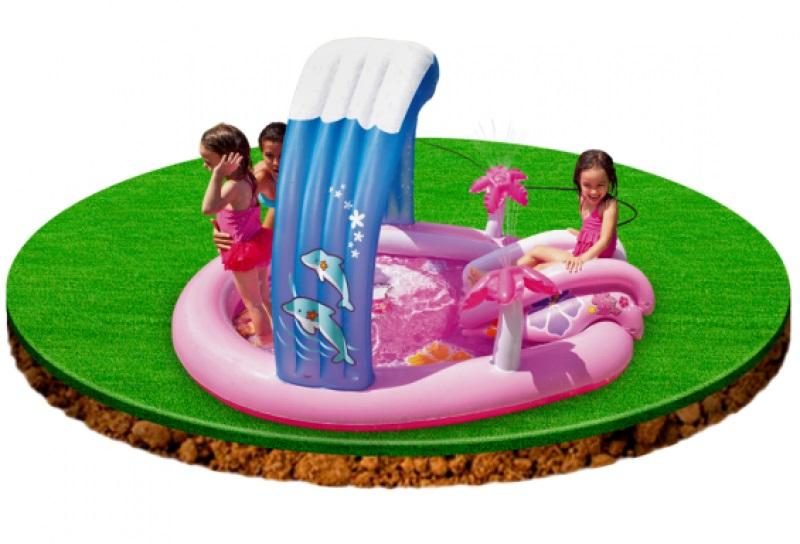 INTEX - nafukovací bazénové hrací centrum Hello Kitty 57137