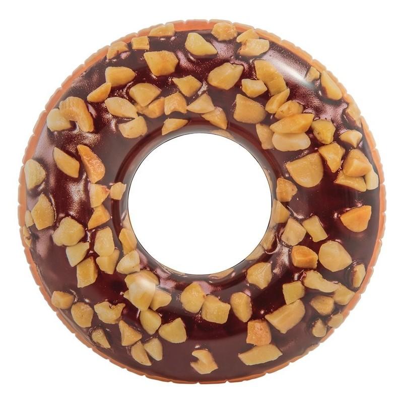 INTEX - nafukovací kruh Čokoládová donutka 56262