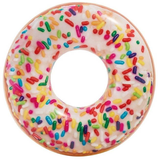 INTEX - nafukovací kolo Duhová donutka 56263