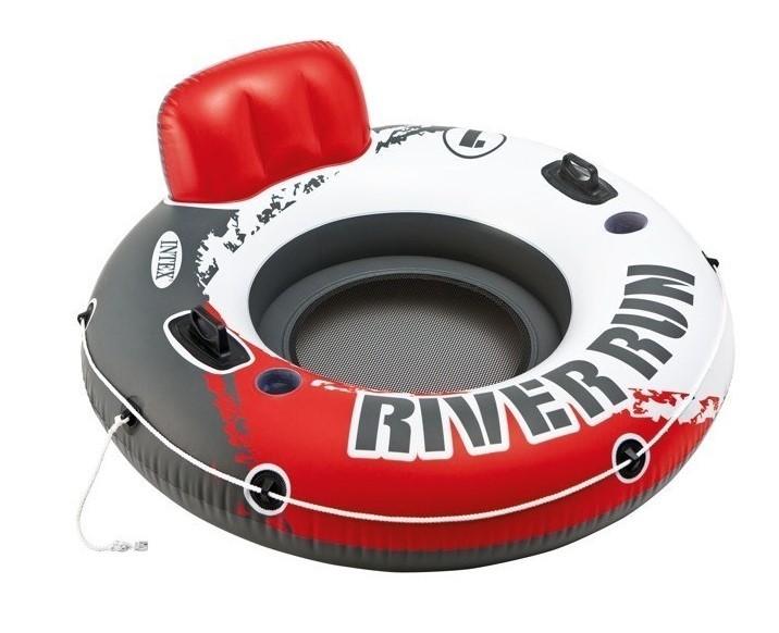 INTEX - nafukovací křeslo River Run červené 56825