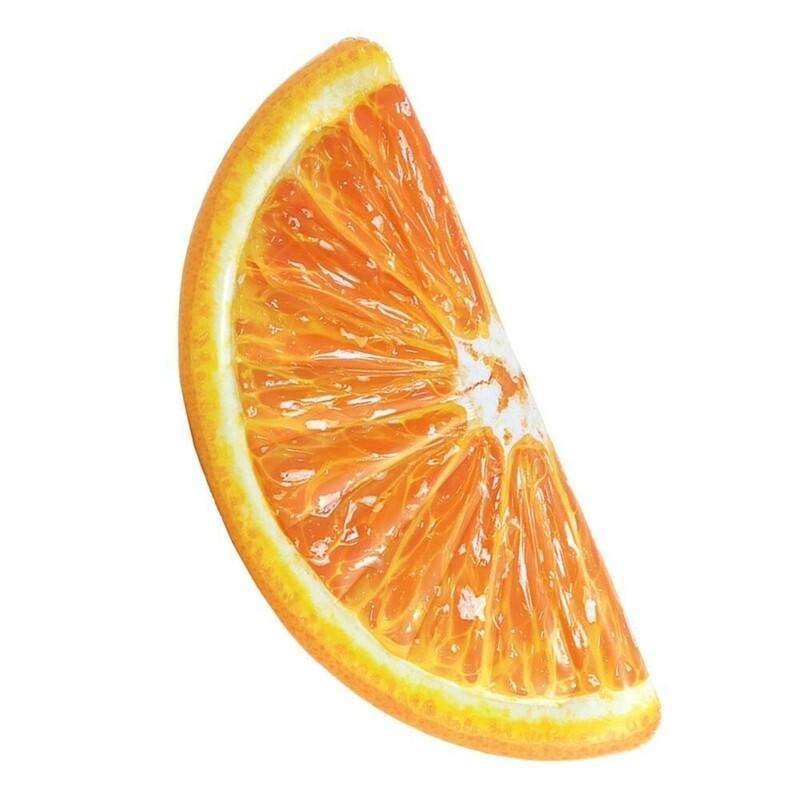 INTEX - nafukovací lehátko Plátek pomeranče 58763
