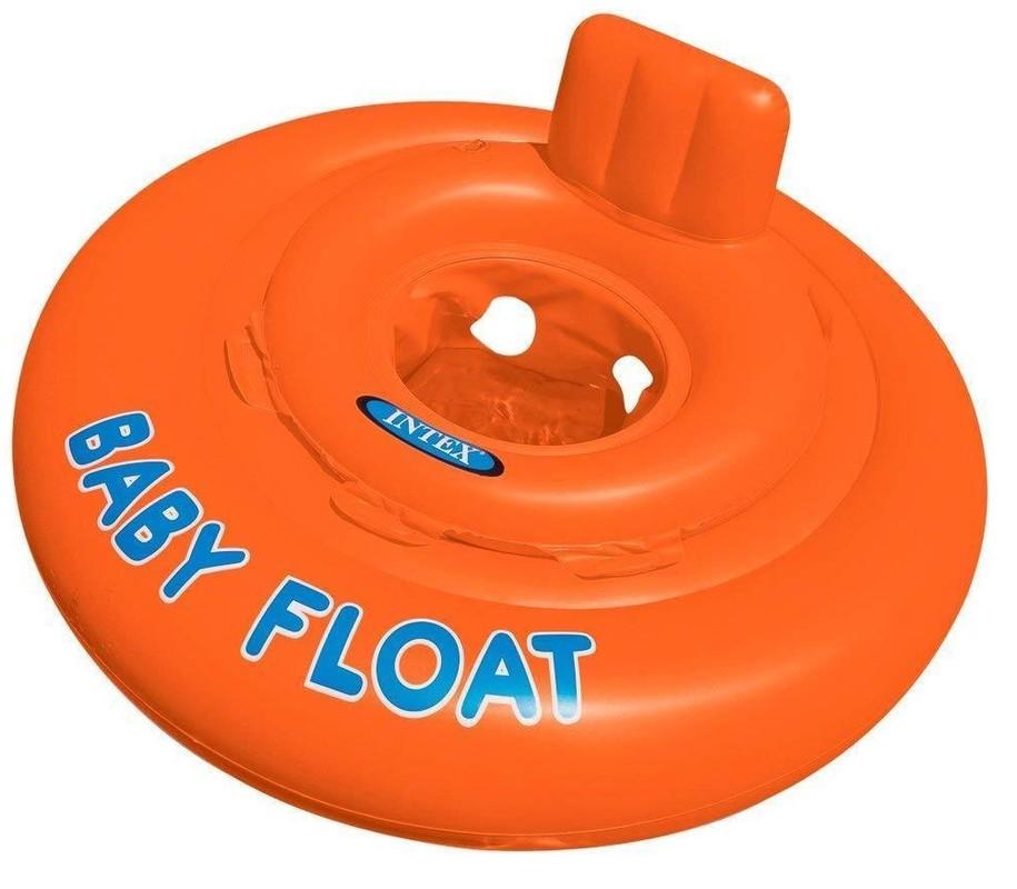 INTEX - vajícím způsobem kolo na sezení Baby Float 56588