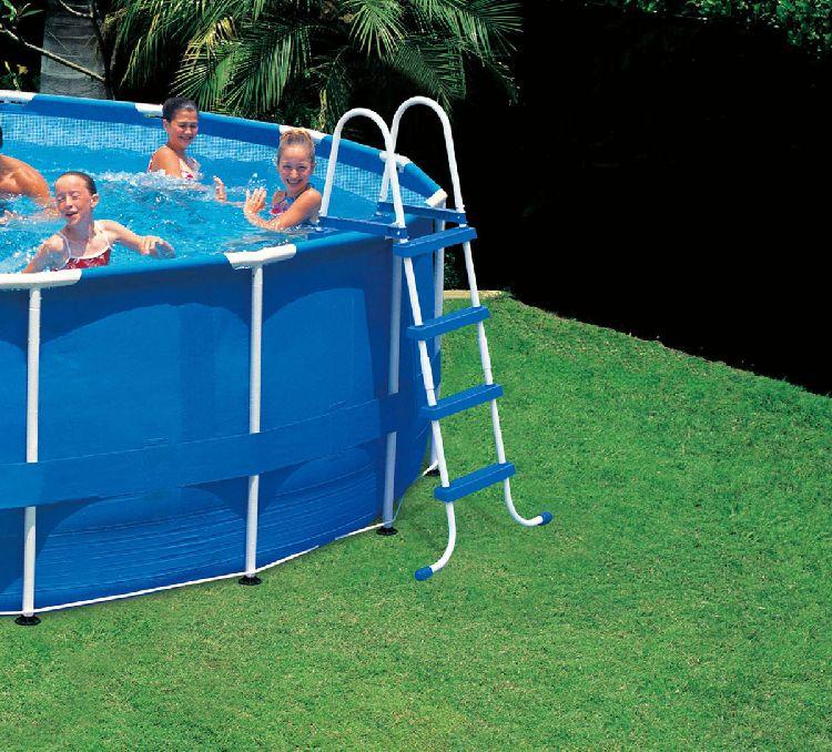 INTEX - Žebřík do bazénu 28062