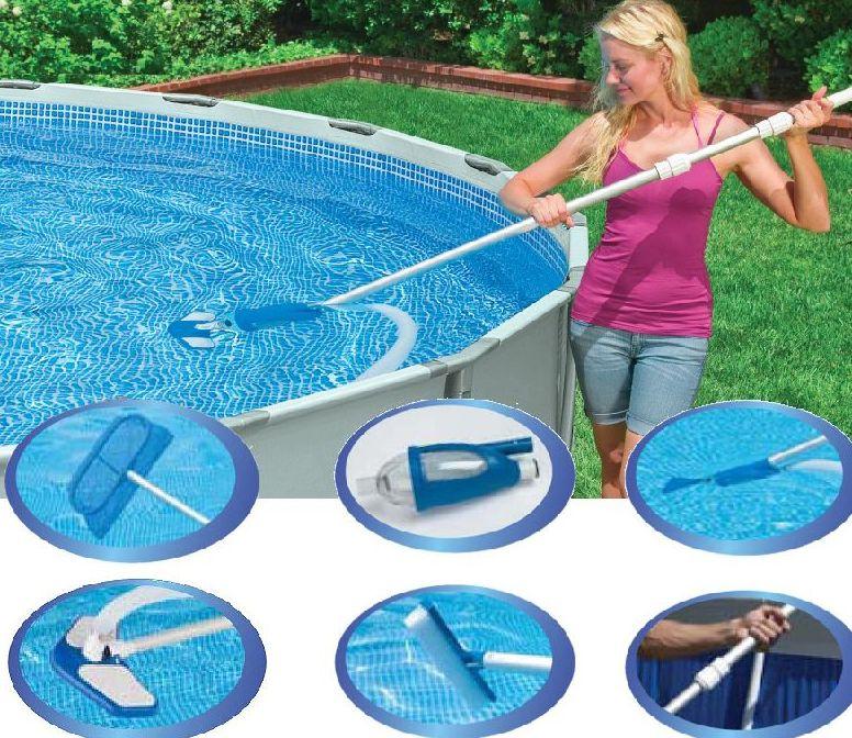 INTEX - sada na čištění bazénů Deluxe 28003