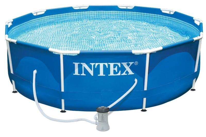 INTEX - Zahradní bazén 28202NP Metal Frame 305 x 76 cm kartušovou filtrací