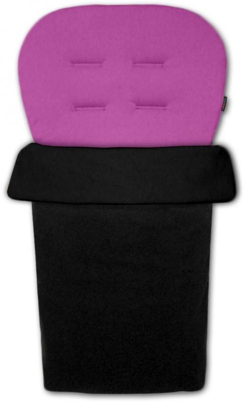 IVEMA BABY - Vložka do kočárku a nánožník 2 v 1 - fialová