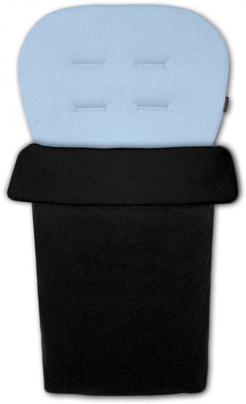 IVEMA BABY - Vložka do kočárku a nánožník 2 v 1 - světle modrá