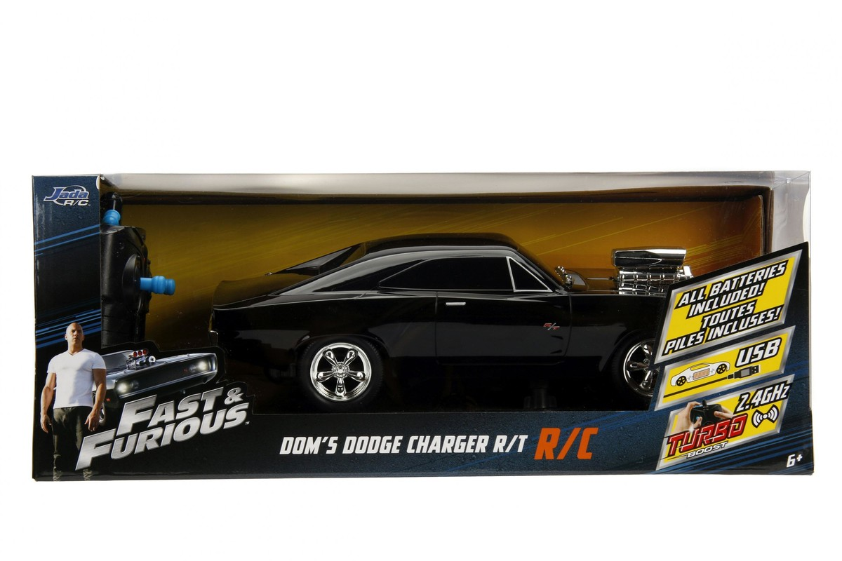 JADA - Rychle A Zběsile Rc Auto 1970 Dodge Charger 1:16