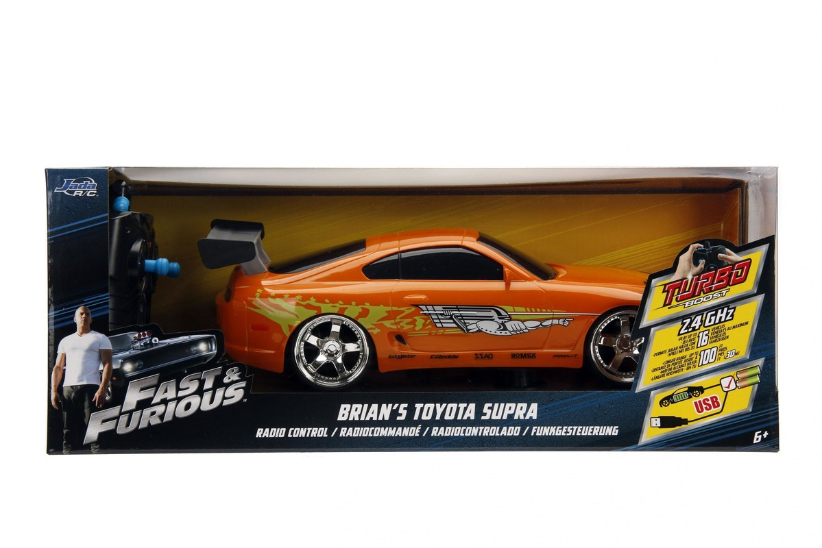 JADA - Rychle A Zběsile Rc Auto Brian'S Toyota 1:16