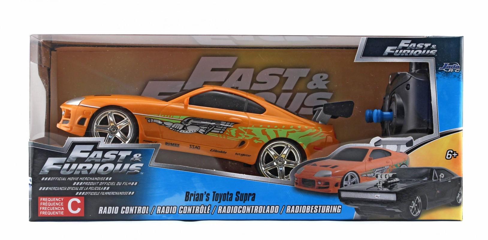 JADA - Rychle A Zběsile Rc Auto Brian'S Toyota 1:24