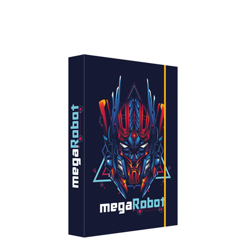 JUNIOR - Box na sešity A5 Megarobot
