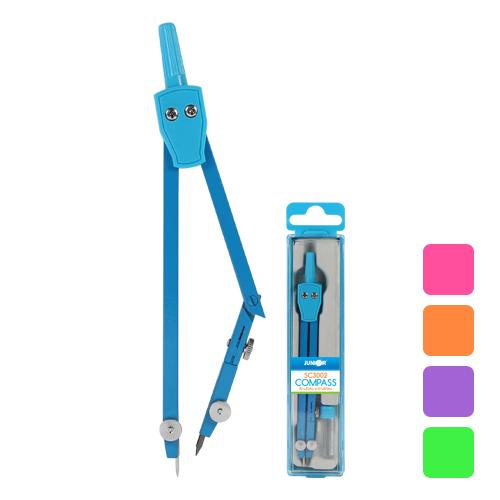 JUNIOR - Kružítko školní SC3002 barevné + tuha