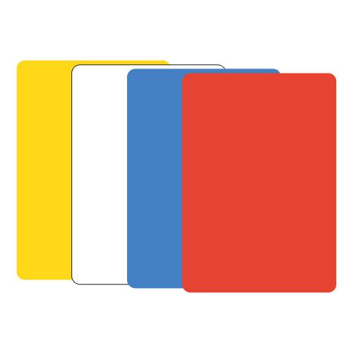 JUNIOR - Modelovací podložka na stůl A5 červená