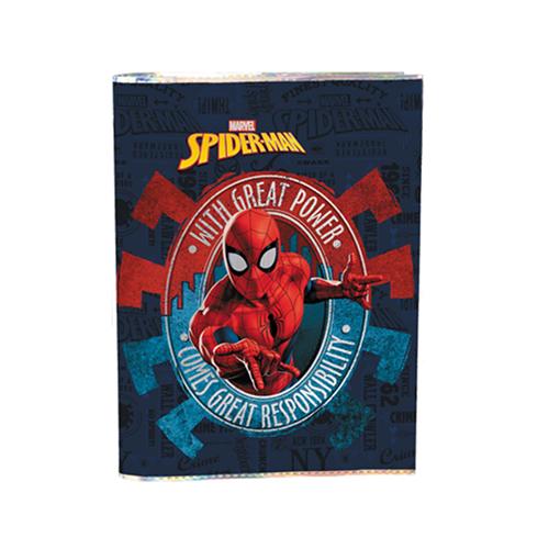 JUNIOR - Obal na sešity A4 Spider-Man Metallic, mix/1ks