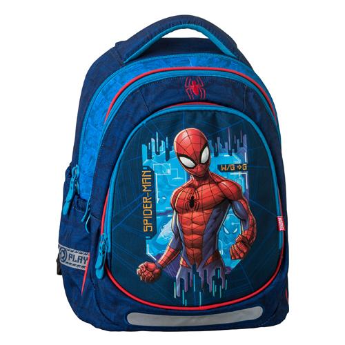 JUNIOR-ST - Školní batoh Maxx Spider-Man Blue