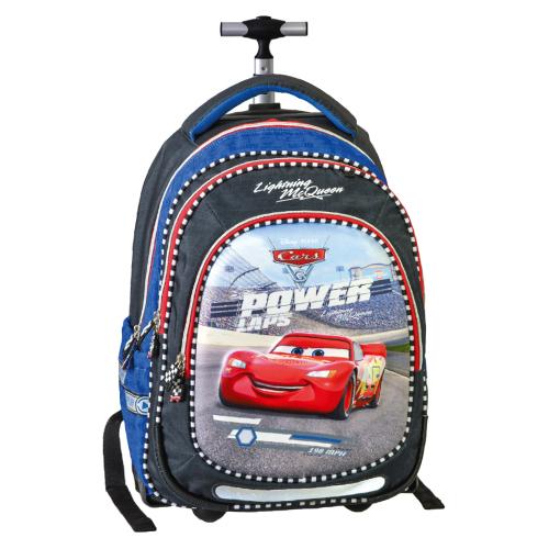 JUNIOR-ST - Školní batoh na kolečkách Smart Trolley Cars, Power lap
