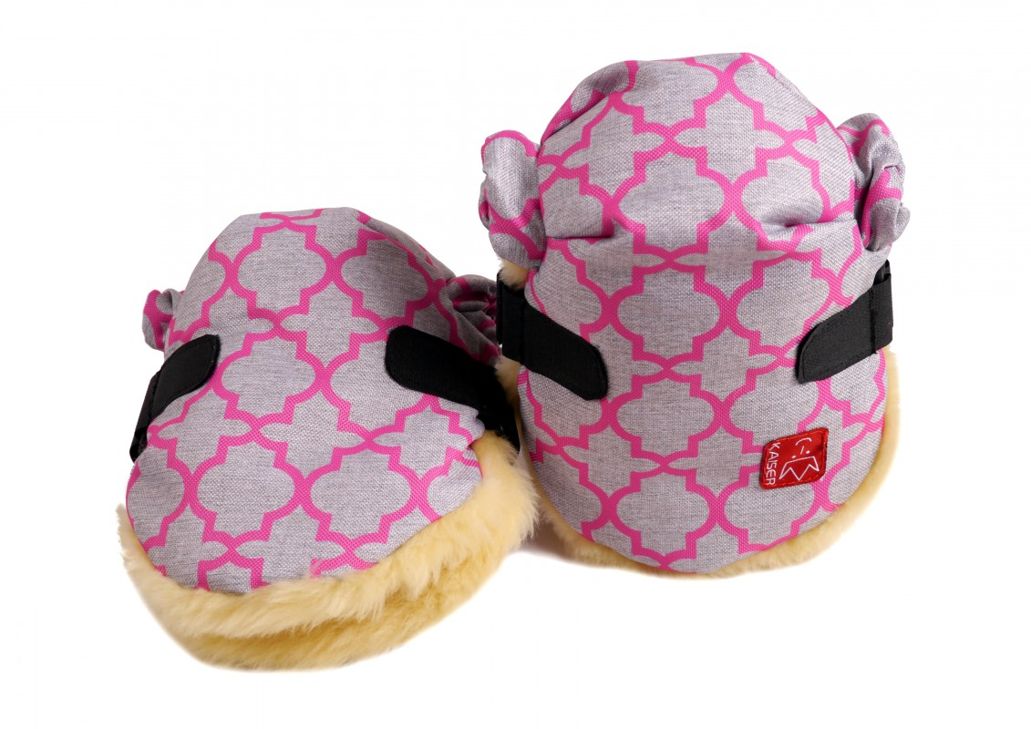 KAISER - Rukávnik TWOOLY - Pink - Ornament
