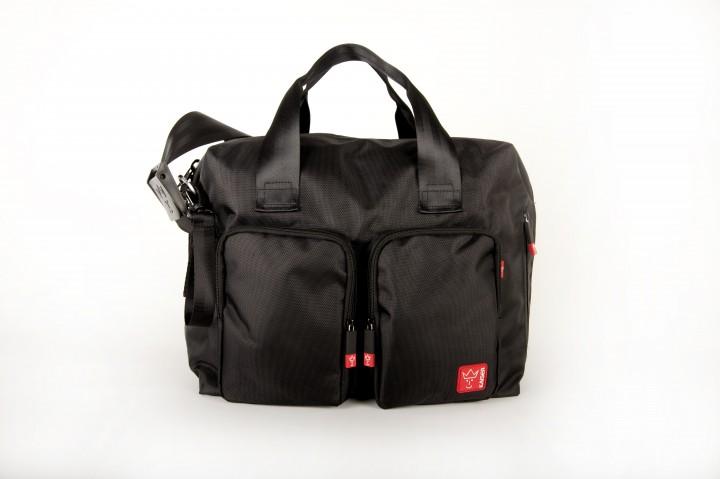 KAISER - Přebalovací taška Worker - Black