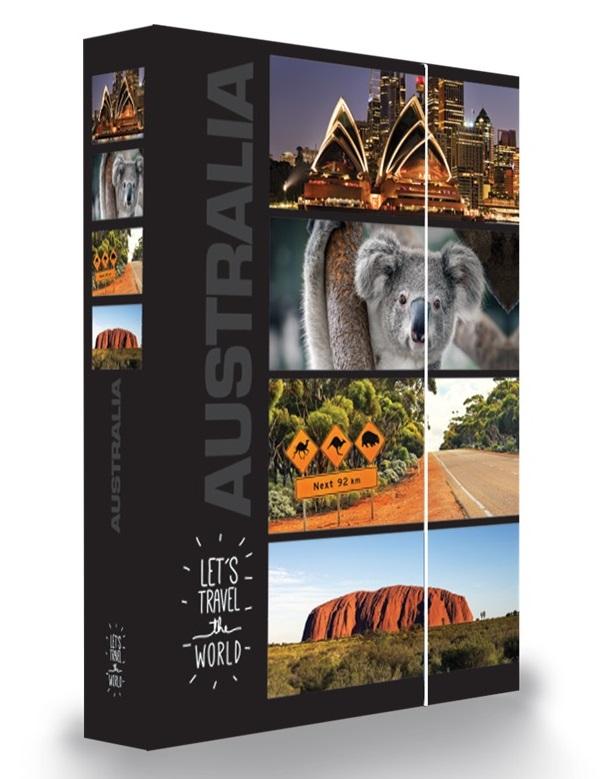 KARTON PP - Box na sešity A4 Austrálie