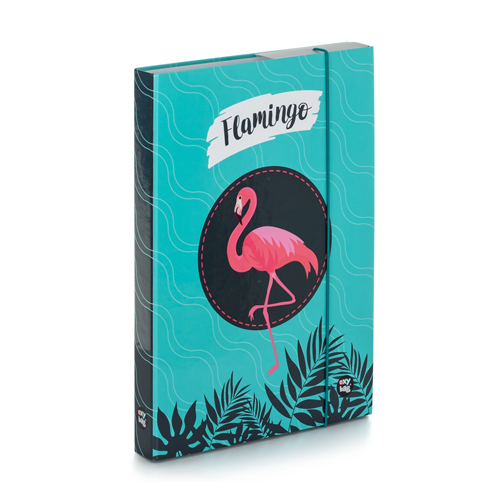 KARTON PP - Box na sešity A4 Flamingo