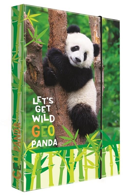 KARTON PP - Box na sešity A4 Jumbo Panda