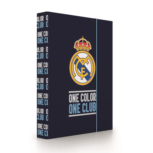 KARTON PP - Box na sešity A4 Jumbo Real Madrid