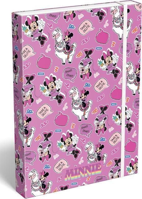 KARTON PP - Box na sešity A4 Minnie Mouse Lama