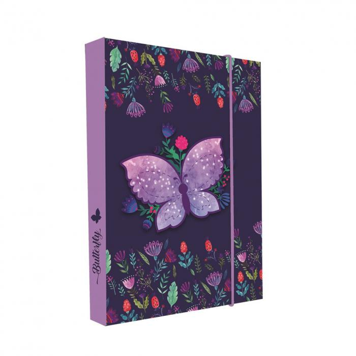KARTON PP - Box na sešity A5 Butterfly