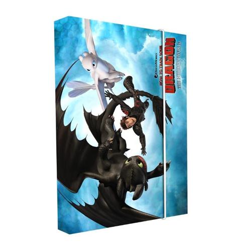 KARTON PP - Box na sešity A5 Dragon
