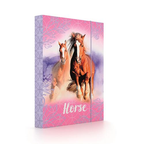 KARTON PP - Box na sešity A5 Horse