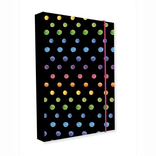 KARTON PP - Box na sešity A5 Jumbo Dots Colors