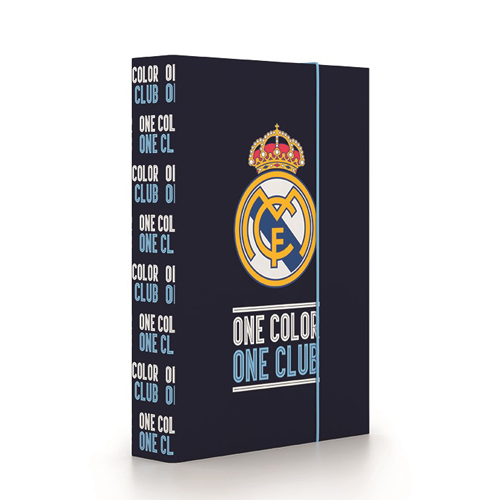 KARTON PP - Box na sešity A5 Jumbo Real Madrid