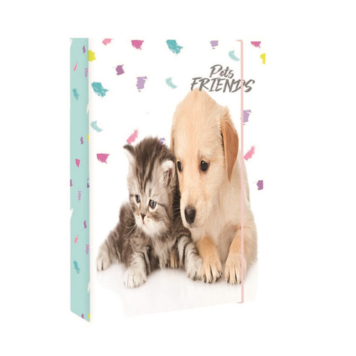 KARTON PP - Box na sešity A5 Pets Friends