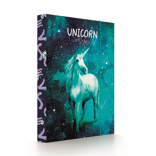 KARTON PP - Box na sešity A5 Unicorn