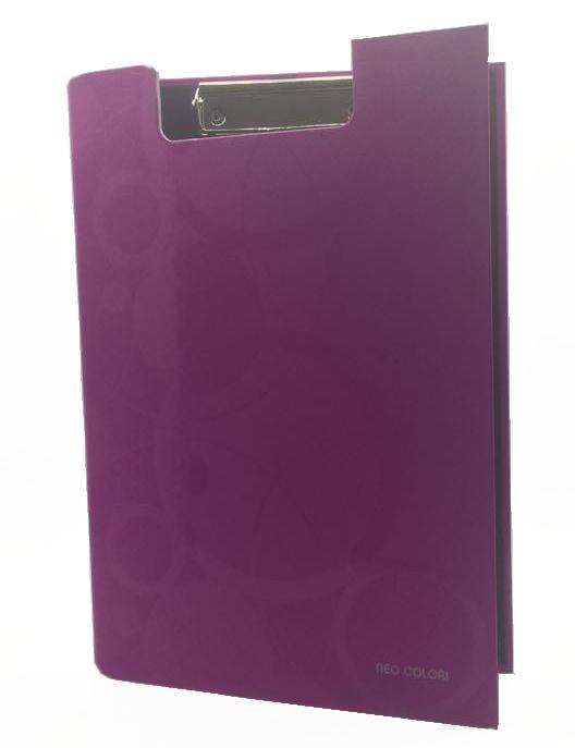 KARTON PP - Deska s klipem zavírací A4 růžová