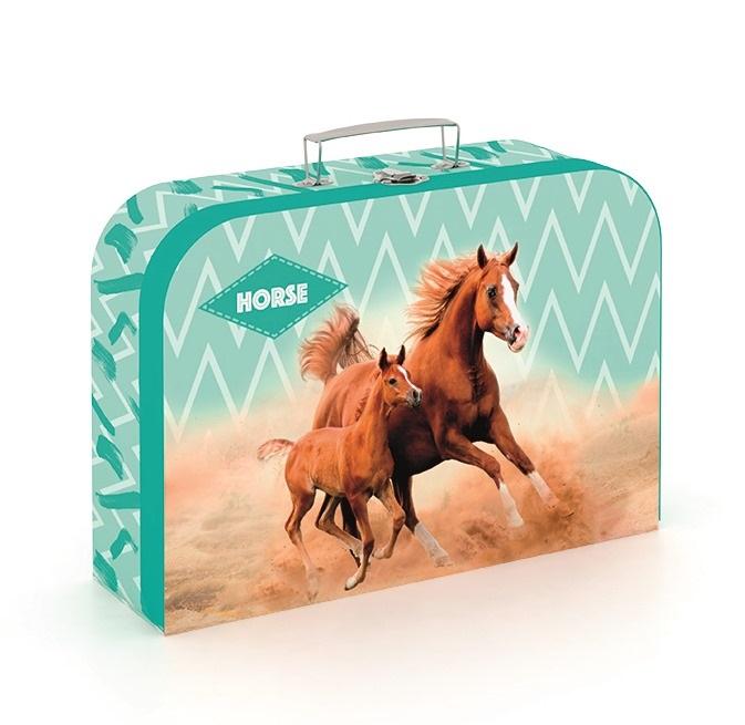 KARTON PP - Kufřík Kůň romatic 34cm