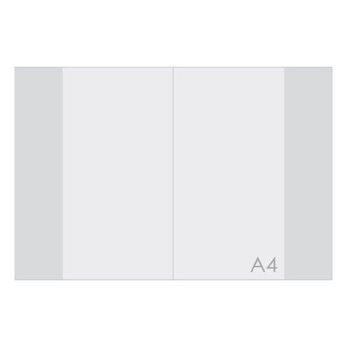 KARTON PP - Obal na sešit A4 PVC hrubý transparentní 110 mic / 1ks