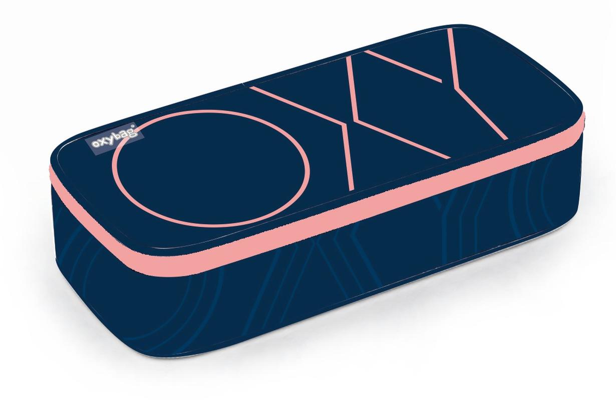KARTON PP - Penál etue komfort OXY PASTEL LINE pink