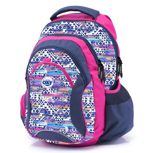 KARTON PP - Studentský batoh OXY Fashion Aztek