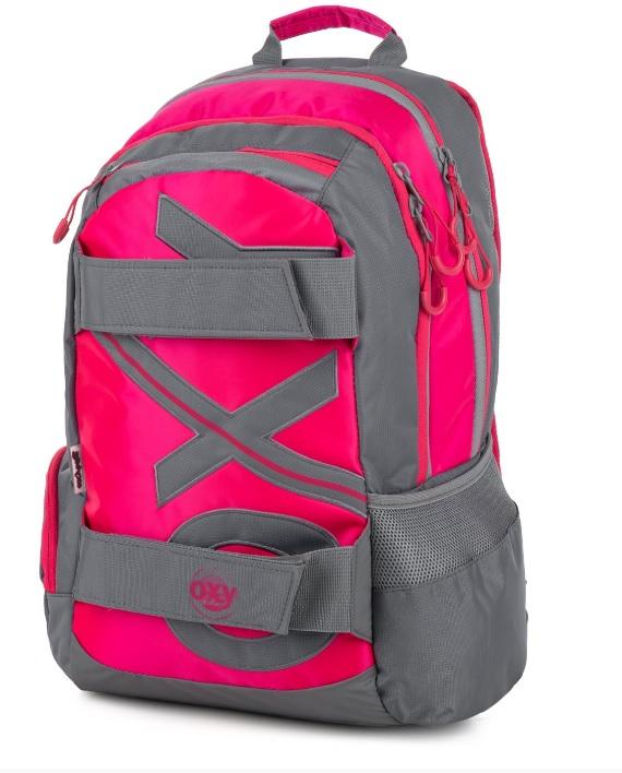 22710c5a43 KARTON PP - Studentský batoh OXY Sport NEON LINE Pink 46cm
